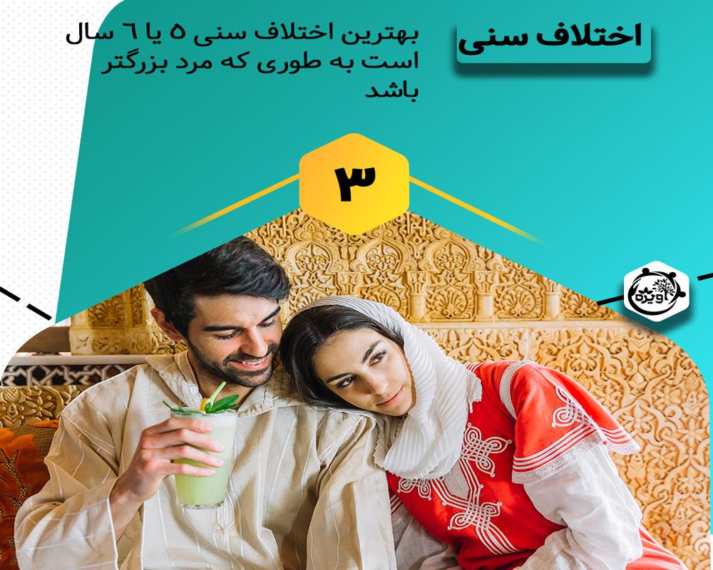 اختلاف سن ازدواج در اسلام، فاصله سنی مناسب برای ازدواج از نظر اسلام